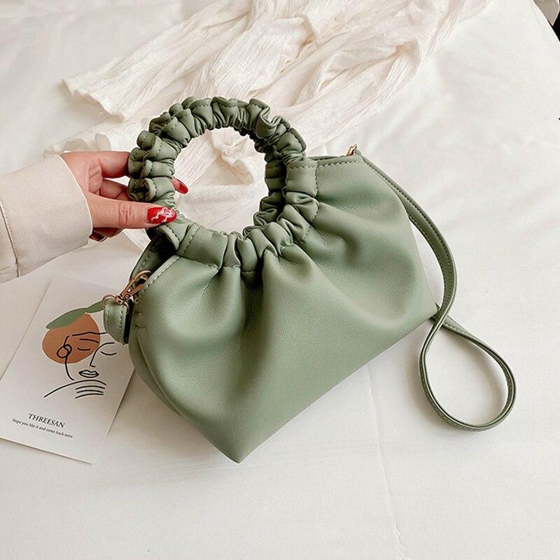 حقيبة للنساء سحابة حقيبة لينة بولي Leather جلد مدام حقيبة واحدة الكتف مطوي زلابية حقيبة يد يوم براثن حقائب حقيبة ساعي