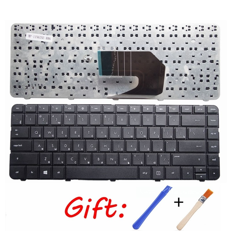 Русская клавиатура для ноутбука HP R15 CQ45 CQ58 431 435 436 450 455 650 655 630 631 1000 2000 CQ430 CQ431 CQ635 2000-2d80sr RU