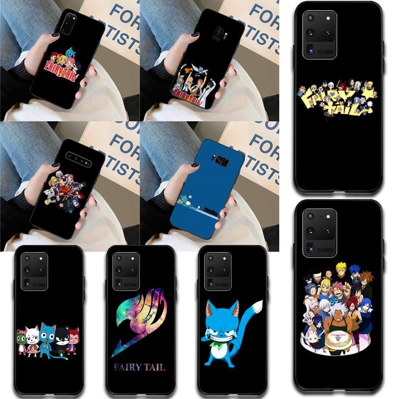 HPCHCJHM Manga Fairy Tail Customer High Quality Phone Case for Samsung S20 plus Ultra S6 S7 edge S8