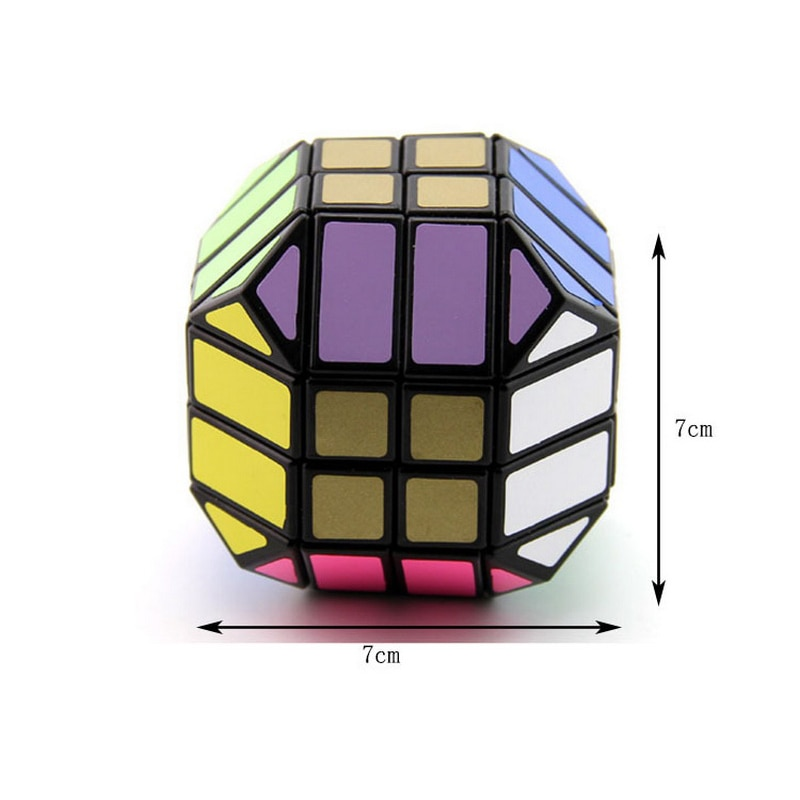 Magic Cube Magnetique Bandaged Cube Black Special-shaped Speed Cube Puzzle Cube Stress Reliever Creative Toys Anti Stress Toys enlarge