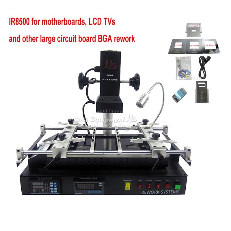 LY IR6500 IR8500 infrarrojos IR Estación de retrabajo de BGA soldadura reboleo de PCB chips de reparación de la placa base de la máquina