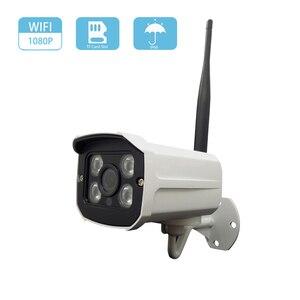 HD 1080P 2MP WiFi IP Camera Wireless Onvif CCTV Camera Home Security Surveillance Micro SD Card Slot Outdoor Waterproof Camera