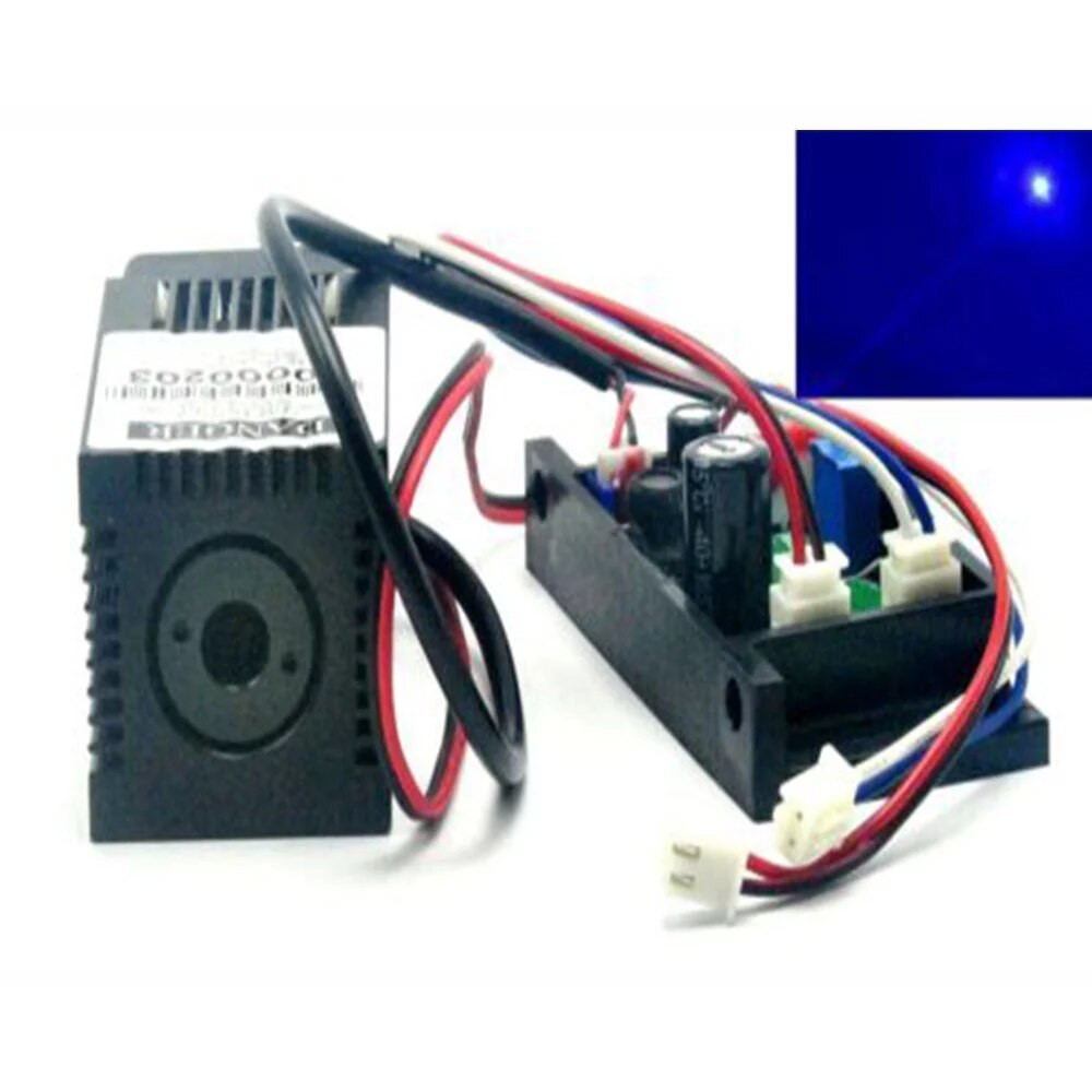 Модуль Do +445нм 450нм чистый синий лазер 100 мВт w% 2F TTL +% 26 вентилятор охлаждение 12В