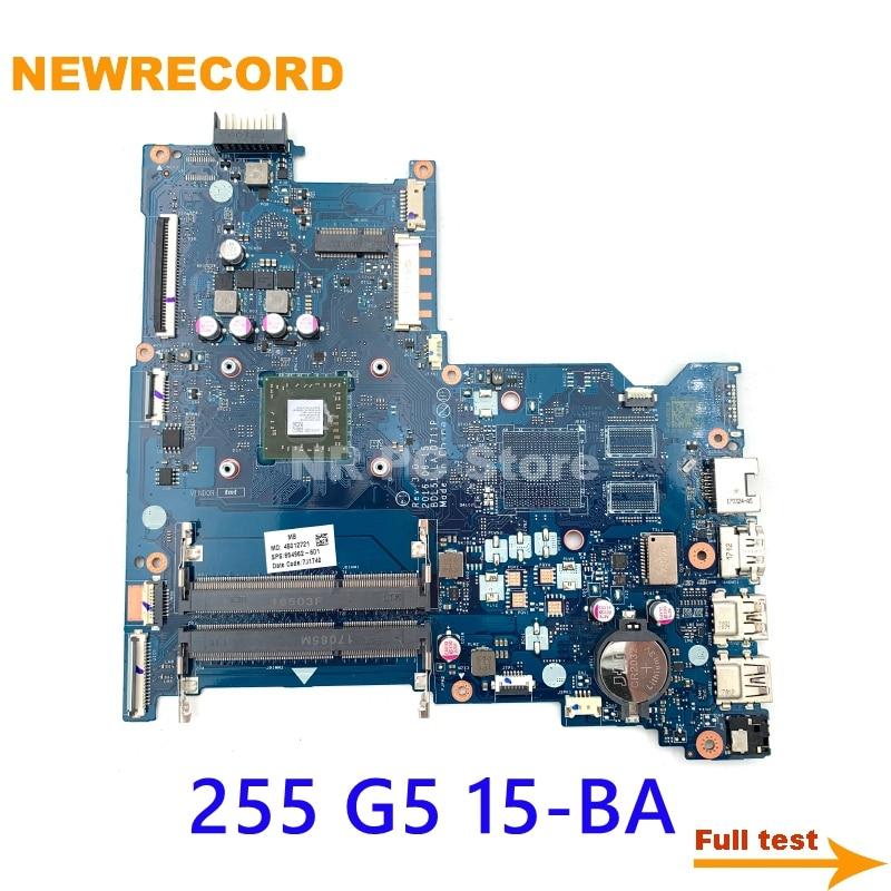 NEWRECORD BDL51 LA-D711P 854962-601 854962-001 كمبيوتر محمول لوحة رئيسية لأجهزة HP 255 G5 15-BA DDR3 اللوحة الرئيسية