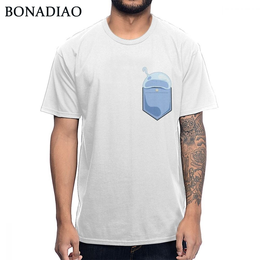 Moda Streetwear Rimuru Tempest esa vez me reencarné como una camiseta Slime algodón suave 2019 verano camiseta S-6XL plus tamaño