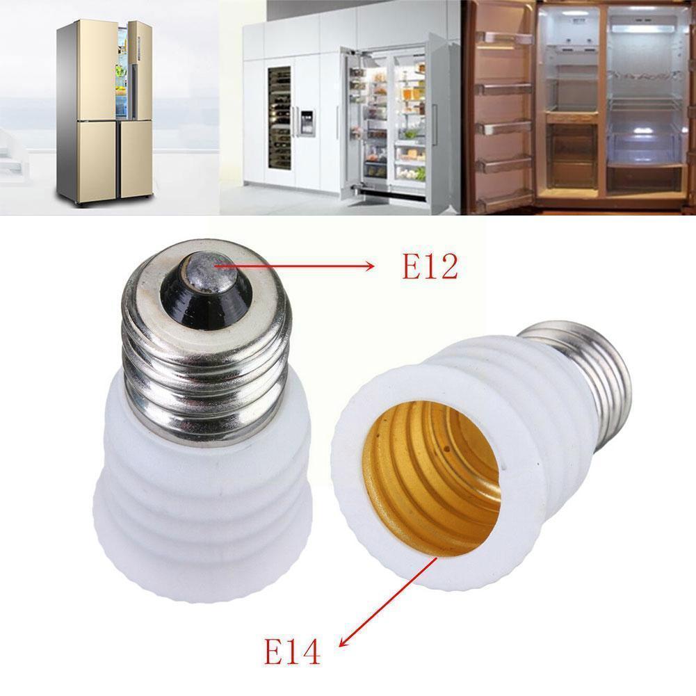 Адаптер E12 в E14 для патрона лампы, переходник для патрона лампы, аксессуары для канделябры, конвертер, базовый светильник для лампы E14, осветс...