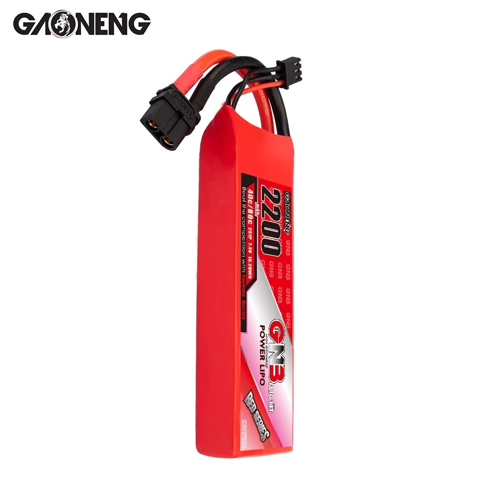vho rc lipo battery 7 4v 6000mah 40c 4pcs 2s battery and eu charger for rc helicopter car boat quadcopter li polymer batteria Gaoneng GNB 2200mAh 2S/3S/4S/6S 40C/80C Lipo Battery With XT60 Plug For RC Helicopter Quadcopter FPV Racing Drone Parts