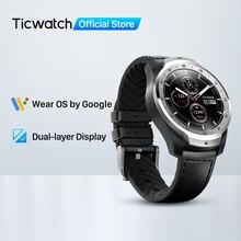 TicWatch Pro 512Mb Smart Watch orologio da uomo Wear OS per iOS Android NFC pagamento GPS integrato Smartwatch Bluetooth impermeabile