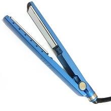 HAEGER-Professional Hair Iron Hair Flat Iron 11/4 Nano Titanium 450F Temperature Hair Straightener