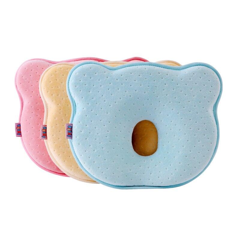 Memory Foam Baby Pillows Breathable Kids Shaping Pillows To Prevent Flat Head Ergonomic Newborns Pillow Almofada Infantil 0~12M
