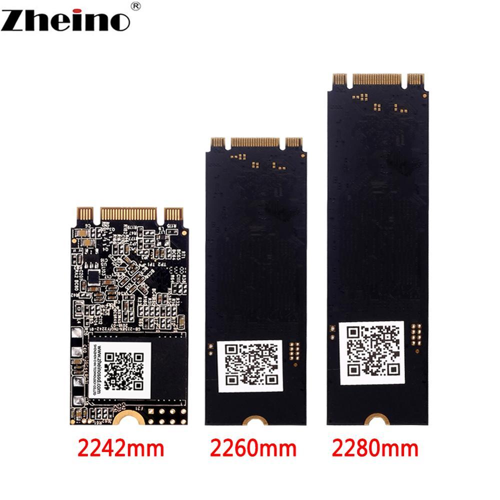 Zheino m.2 ssd gb 64gb 128gb 256gb 2242 mm 2260mm 2280mm SSD M2 SATA NGFF 512gb 1TB interno disco sólido disco para PC portátil