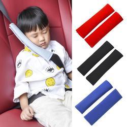 1 par universal cinto de segurança do carro almofada de ombro confortável condução cinto de segurança veículo macio de pelúcia auto seatbeltt cinta arnês capa