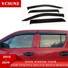 Side Window Deflectors Of Accessories Window Guard For Toyota Hilux Revo Rocco 2015 2016 2017 2018 2019 2020 SR5