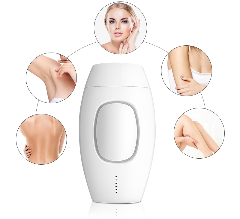 Portable Electric IPL Epilator Laser Hair Removal Painless Adjustable Intensity Threading Body Hair Remover Machine Home Use enlarge