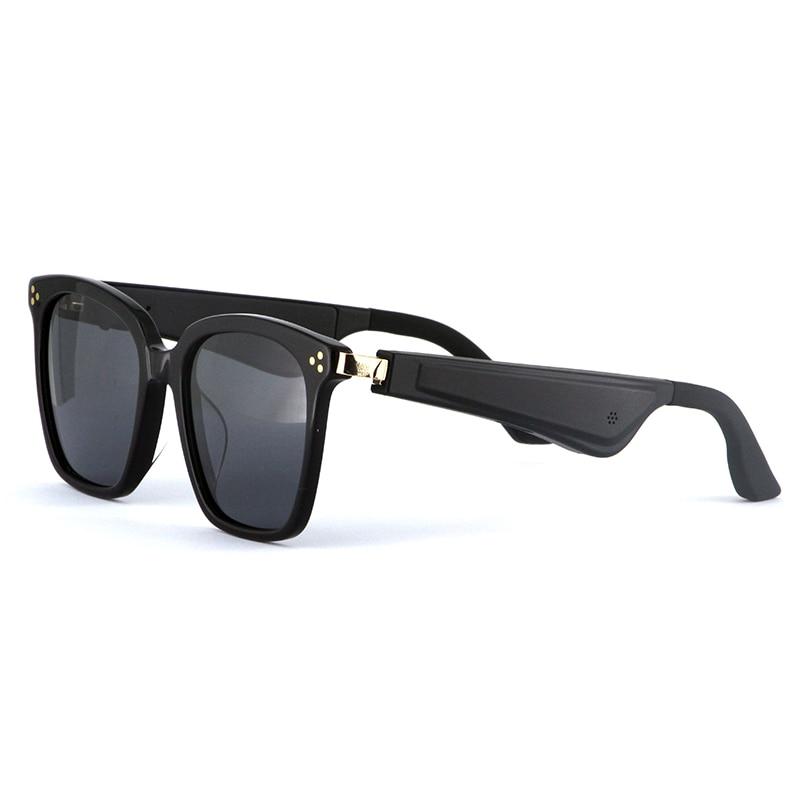 Fones de Ouvido Estéreo sem Fio para Atividades ao ar Óculos de Sol Livre Lente Polarizada Bluetooth Ouvido Aberto Direcional Áudio 5.0