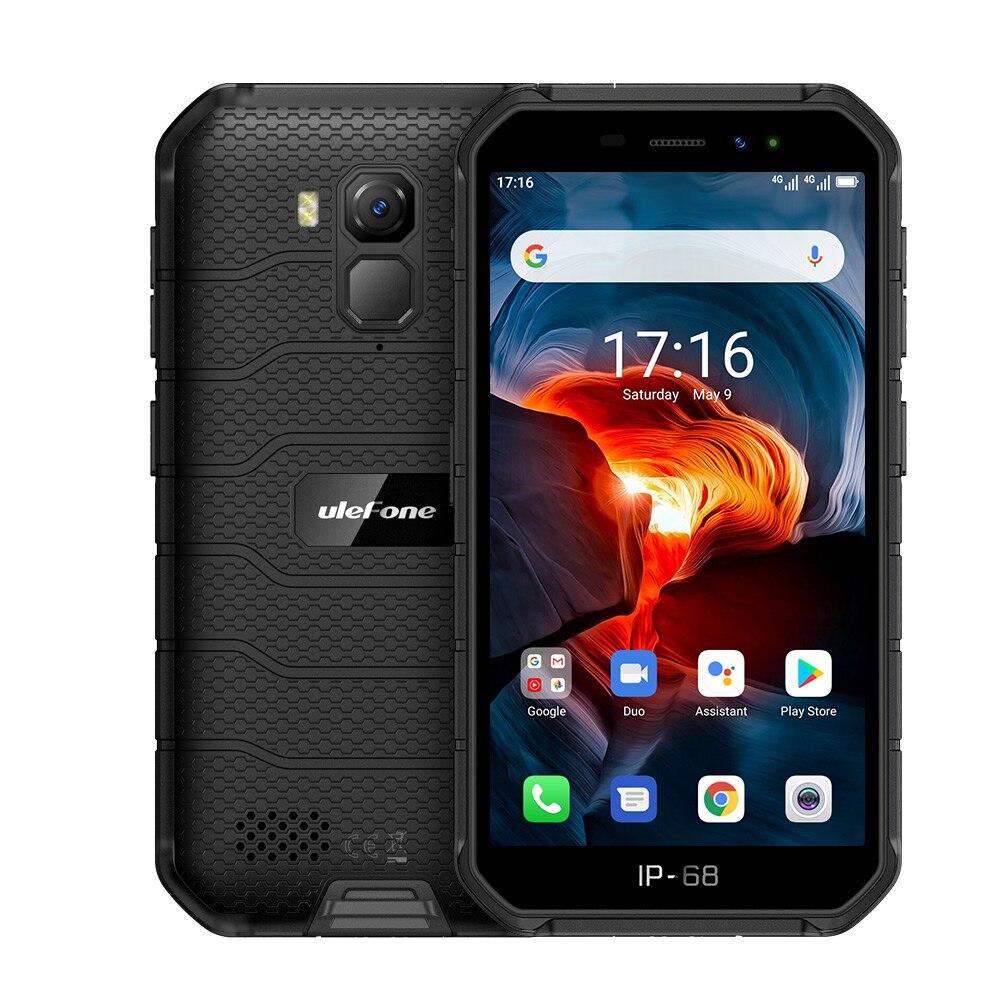 Перейти на Алиэкспресс и купить Ulefone Power X7 Pro Android 10 смартфон 4 Гб Оперативная память IP68 Водонепроницаемый Bluetooth 5,0 NFC 4 аппарат не привязан к оператору сотовой связи 5,0 ''прочный...