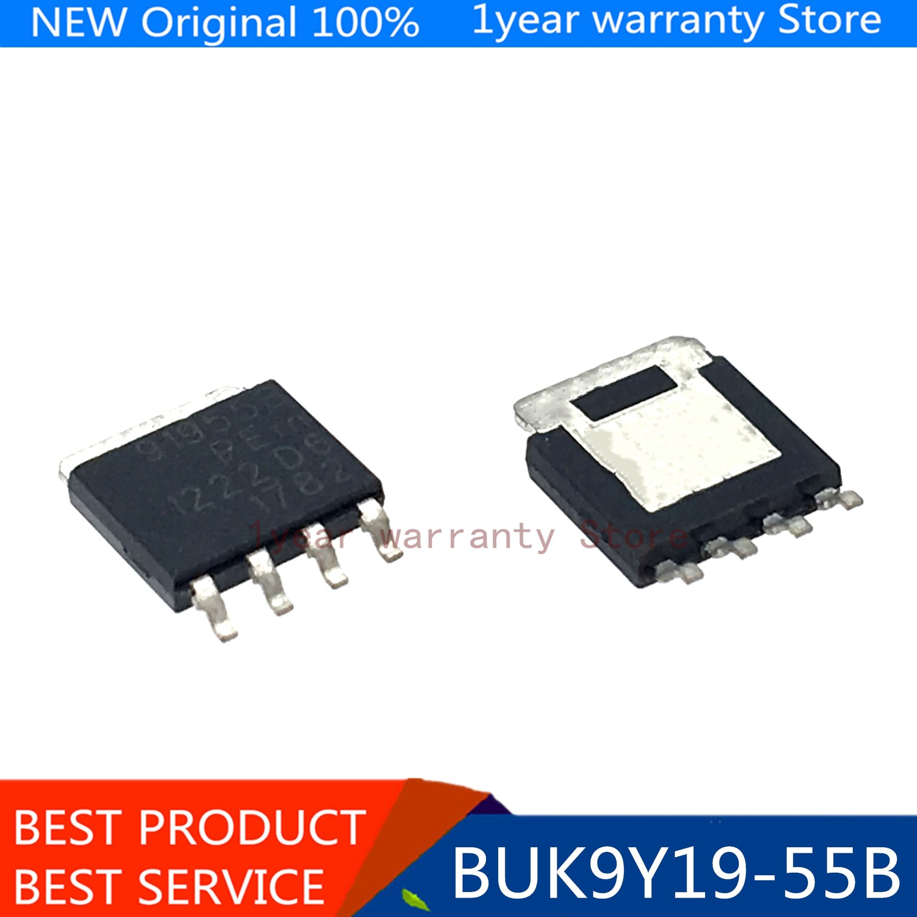 100% new imported original BUK9Y19-55B 91955B SO-T669 diesel engine board vulnerable maintenance chip