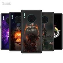 Louez le soleil noir âmes étui pour Huawei Mate 30 Y9 Prime Nova 5 5T 5i P30 Pro Honor play 3 3e 8X 10 Lite 5G noir Silicone Cov