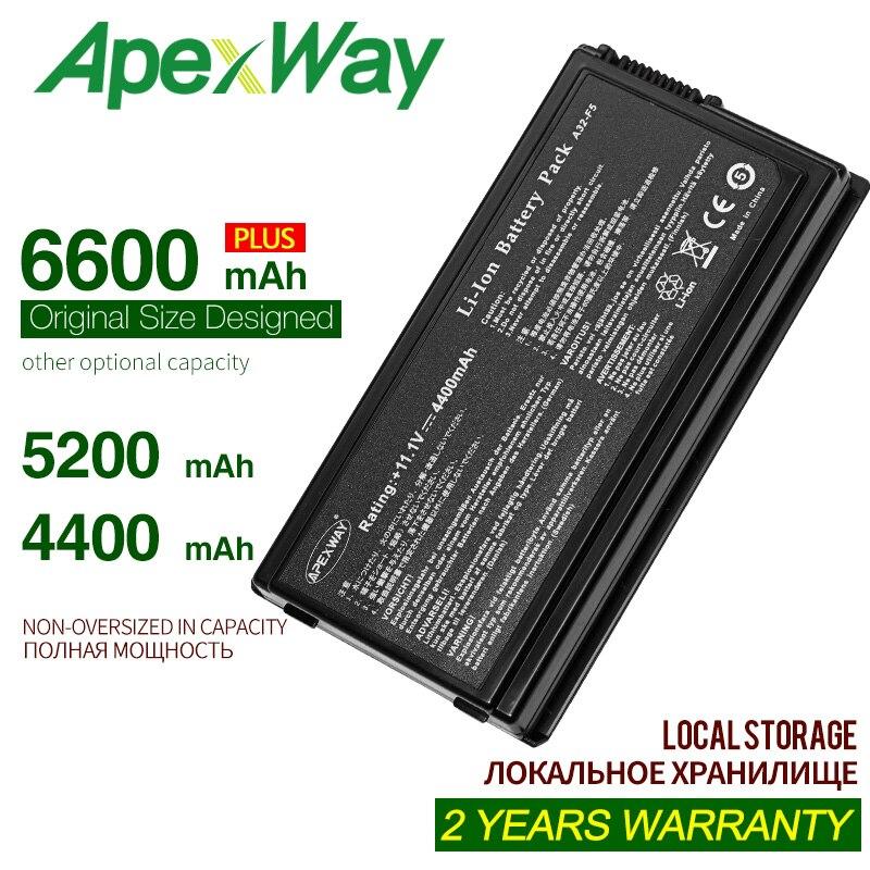 ApexWay 6 celdas, 11,1 V A32-F5 nueva batería de portátil para Asus...