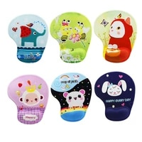 cute cartoon animal mouse pad comfort wrist rest anime gamer mouse pad silicone wristband decoration kid mat for overwatch gamer