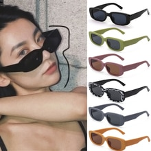 Square Rectangle Sunglasses for Women Anti blue Light Anti radiation Sun Glasses For Men Luxury Bran