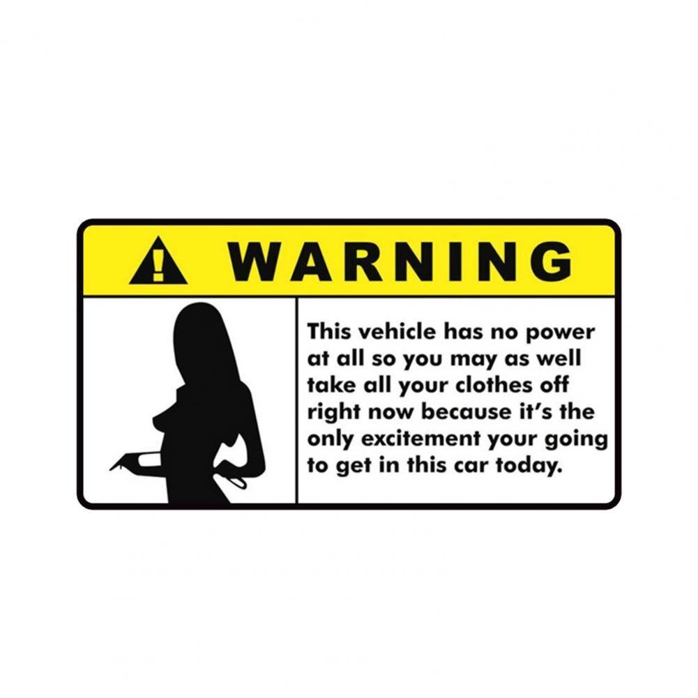 Creative Women Pattern Car Sticker Waterproof Easy to Apply PVC Vehicle Sticker for Auto Styling