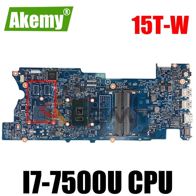 Akemy 859660-601 14263-2 448.06202.0021 ل HP الحسد X360 للتحويل 15-W 15T-W 15-BK اللوحة المحمول مع i7-7500U