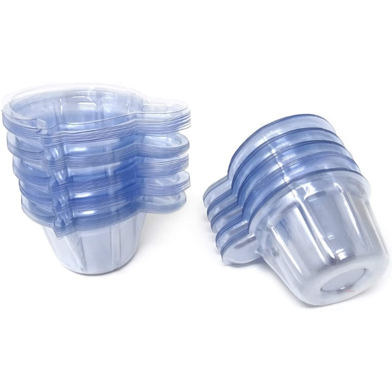 500PCS 40ml Epoxy Mixing Cups Graduated Plastic Cups Disposable Cups Resin Craft 83XF