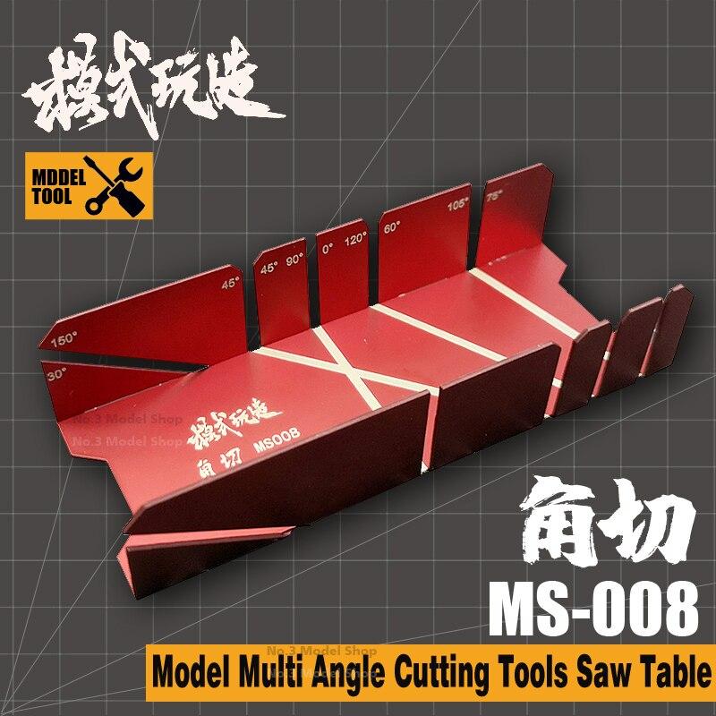 Modelos militares de Gundam, herramientas de corte multiángulo de actualización, mesa de sierra, modelo de montaje, herramienta de Hobby, accesorio