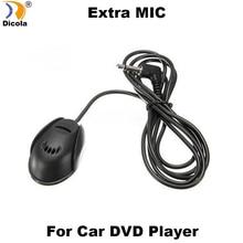 50Hz-20 Khz Professionele 3.5 Mm Mic Externe Microfoon Voor Auto Dvd Player Mic Gps Voor Bluetooth Handsfree call