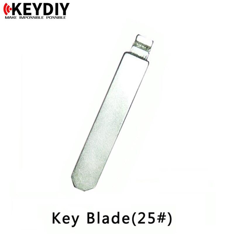 Chave diy remoto chave em branco hon66 25 # dobrável flip chave lâmina slot médio
