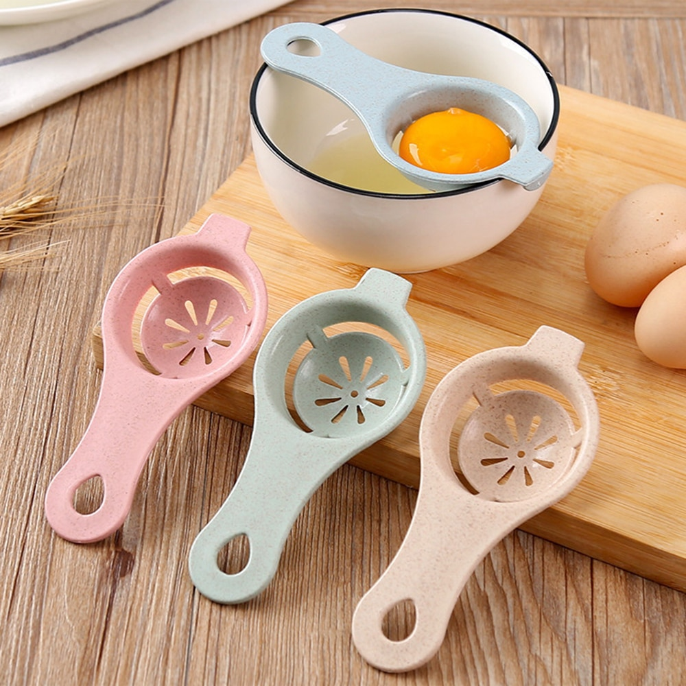 Accesorios de cocina Durable divisor de huevo portátil separador de clara de huevo hacer pastel yema de huevo separación herramientas de cocina