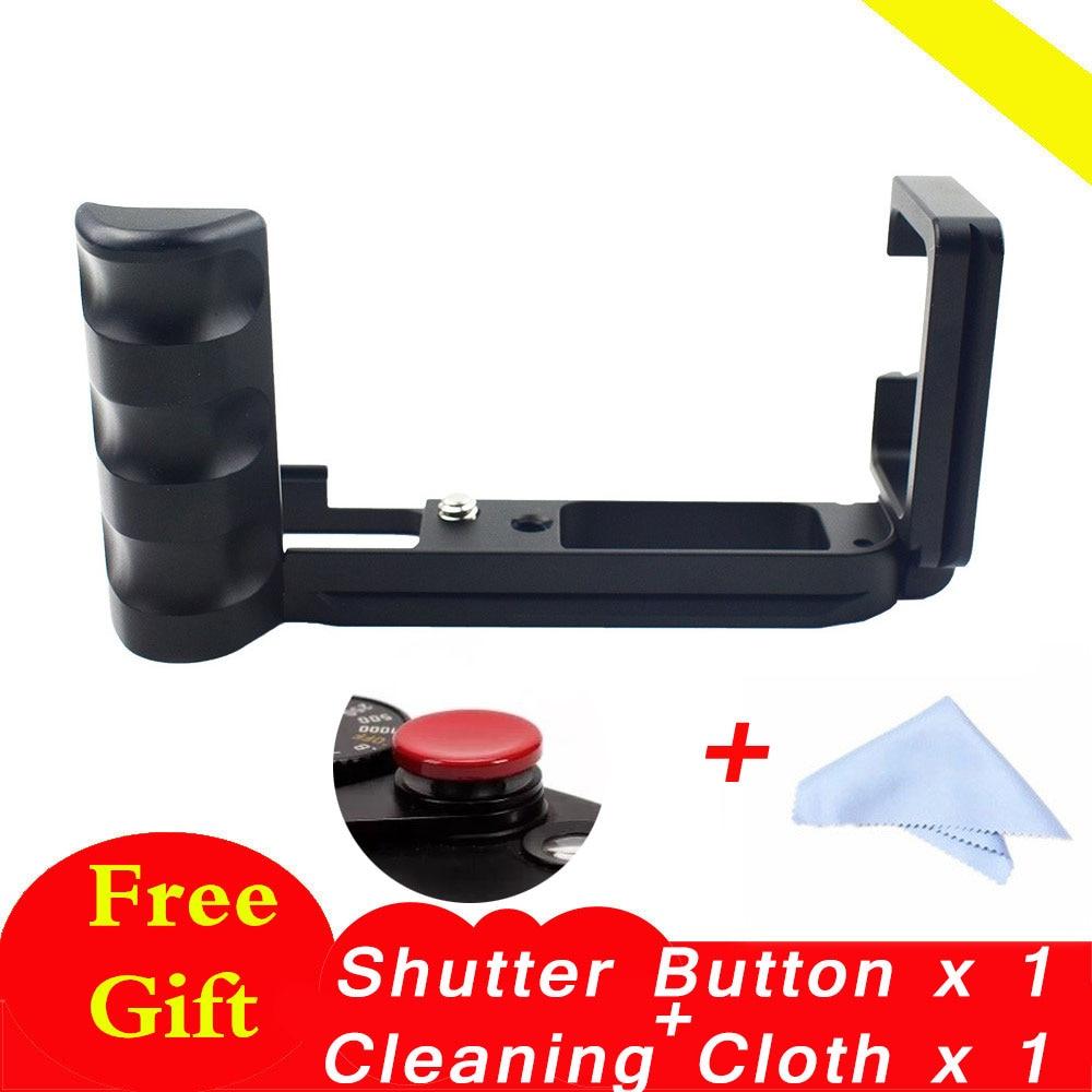 XT20 XT30 XT10 Pro Vertical L Type Bracket Tripod Quick Release Plate Base Grip Handle For Fujifilm XT10 for Fuji XT20 XT30