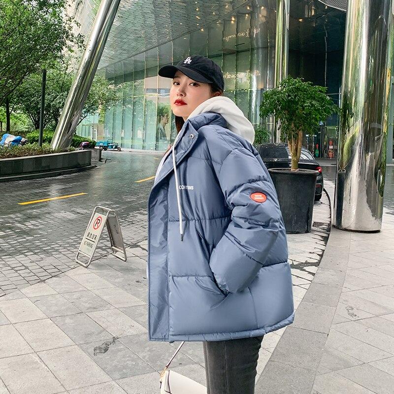 куртка женская куртка зимняя женская куртка женская зима пальто женское пуховик женский 2021 Зимняя женская куртка, пуховик, короткое плотно...