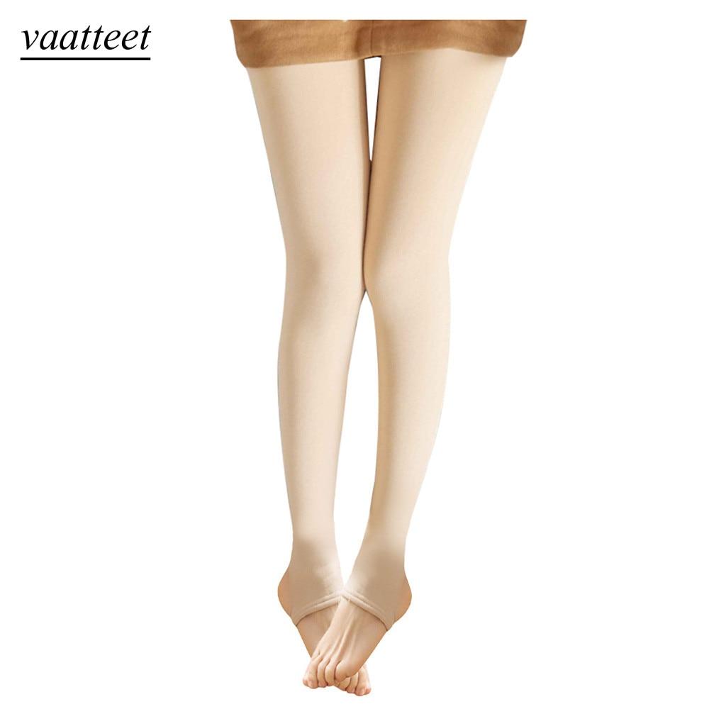 Flawless Legs Fake Translucent Warm Fleece Villi Thickened Pantyhose