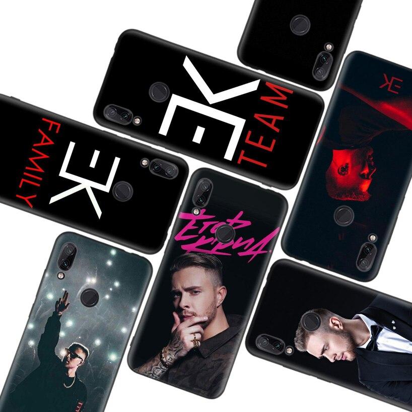 Egor Kreed caso negro para Xiaomi Redmi nota T 8 S 8 8A 7 7A 6 6A K20 K30 Pro S2 Mi 10 CC 9 8 Lite teléfono Coque cubierta