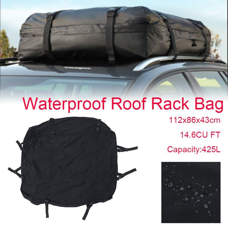 112x86x43cm bolsa de viaje para equipaje de carga para coche bolsa para carga de techo bolsa para equipaje de viaje resistente al agua