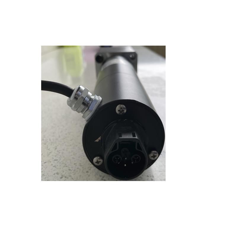 20CrMnTi Black Planetary Gear Motor With 150N.m Peak Torque 2rmp Output Speed enlarge