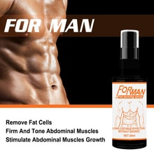 30ML Abdominal Muscle Spray Anti Cellulite Burn Fat Weight Loss Products  for Men Women Powerful Fit