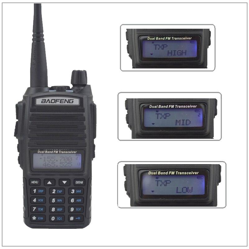 الأشعة فوق البنفسجية 82 اسلكية takie baofeng 8W UV82 المزدوج الفرقة VHF/UHF راديو مزدوجة PTT التبديل راديو baofeng راديو UV-82 8W مع يدوي سماعة