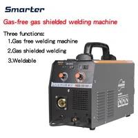 220v semi automatic welding machine gas soldering gas less welding machine 3 in 1 small home multifunctional welding machine