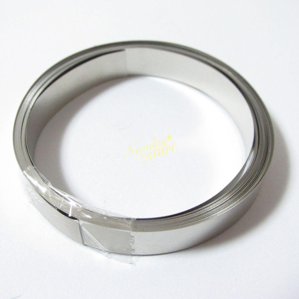 Cinta de tira de placa de níquel de 10 metros para batería Li 18650 Spot Welding-8mm * 0,1mm al por mayor