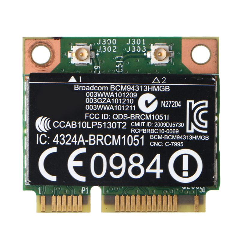 Para Broadcom BCM94313HMGB, Wifi, Bluetooth 4,0, Media Mini, tarjeta inalámbrica PCI-E para-HP M68F