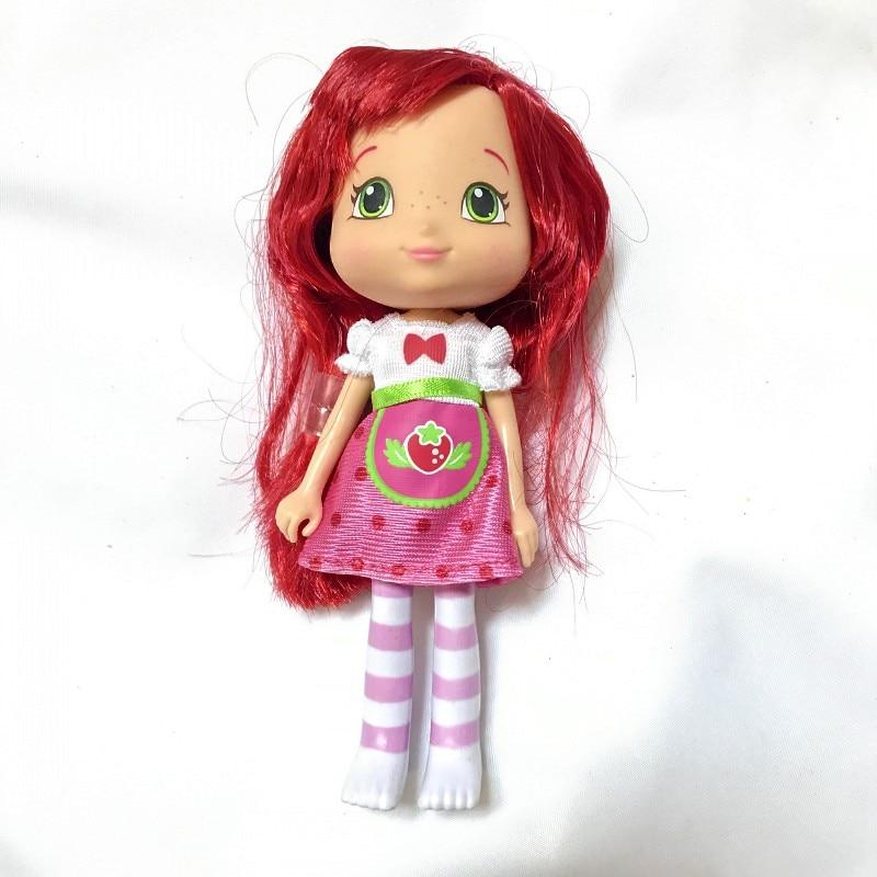 Magia erly meninas presente 1pcs15cm para barbi shortcake strewberry boneca