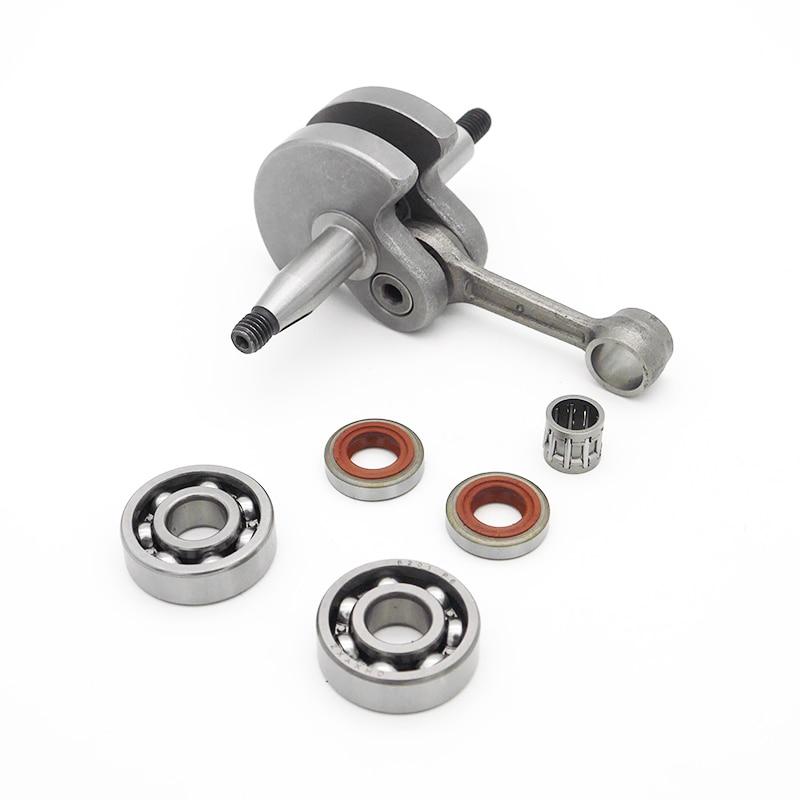 Crankshaft Ball Bearing Oil Seal Fit For Stihl FS120 FS200 FS250  FS300 FS350 Garden Trimmer Brush Cutter Spare Tool Parts
