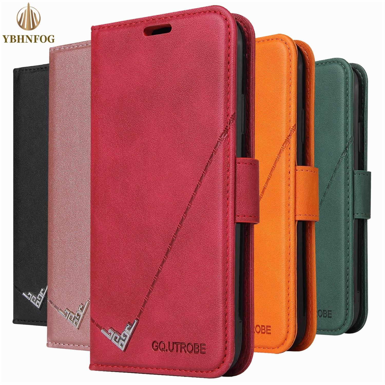 S8 S9 S10 S20 Фе кожаный чехол с откидывающейся крышкой для Samsung Galaxy A21S A11 A31 A41 A51 A71 A81 Магнитный чехол бумажник держатель для карт чехол подставка Чехлы-портмоне