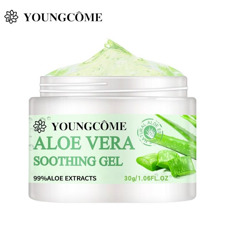 YOUNGCOME 50g/30g/10g Aloe Vera Face Cream Oil Control Nourishing Whitening Hydrating Moisturizing F