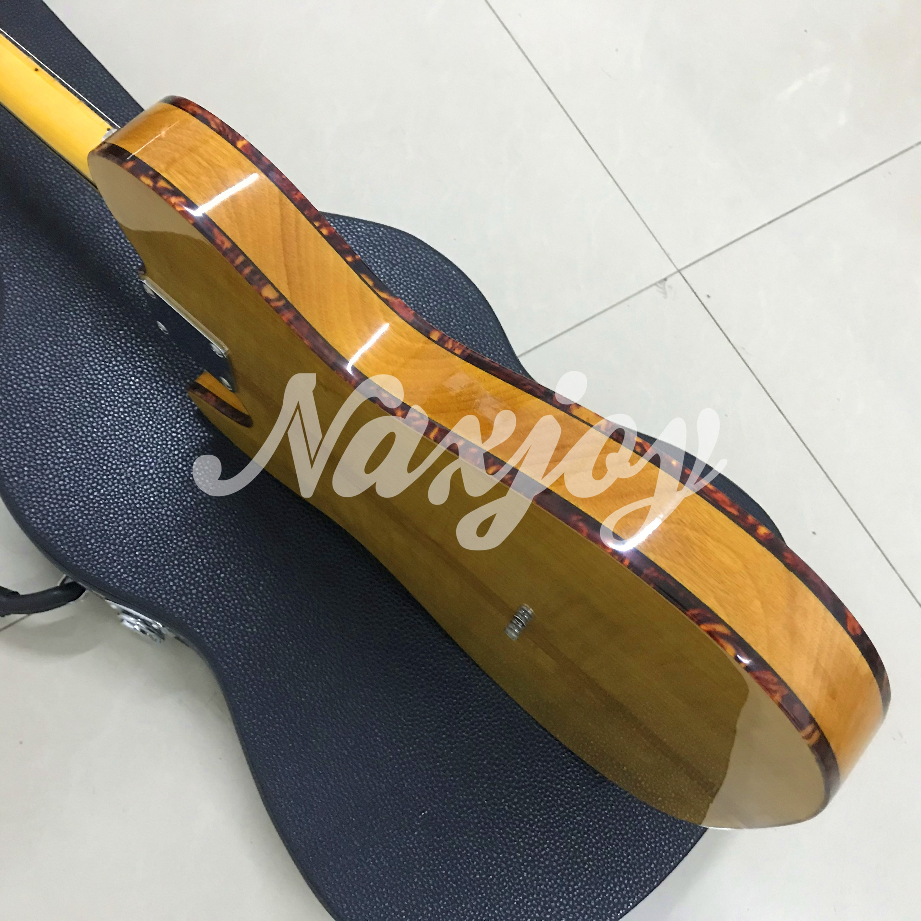 Top quality MadCat TL Electric Guitar Factory custom Flame Maple 10S 45th Anniversary Mad cat TL guitar enlarge