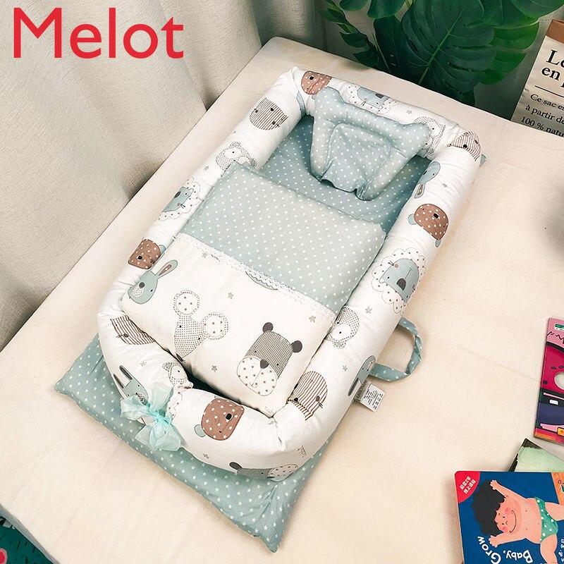 سرير سرير مكافحة الضغط سرير بيبي في سرير الوليد طوي المحمولة بيونيك سرير Bb الطفل السفر سرير صغير جودة عالية ودائم