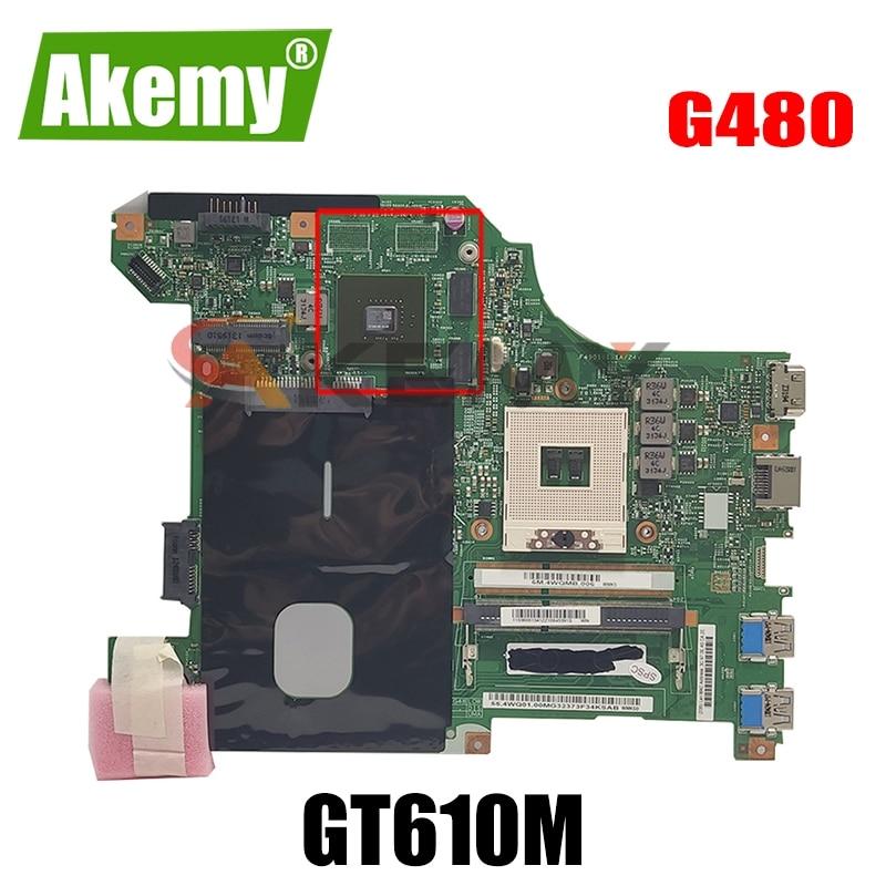 LG4858L MB 11326-1 اللوحة الأم للكمبيوتر المحمول لينوفو G480 اللوحة الرئيسية الأصلية GT610M